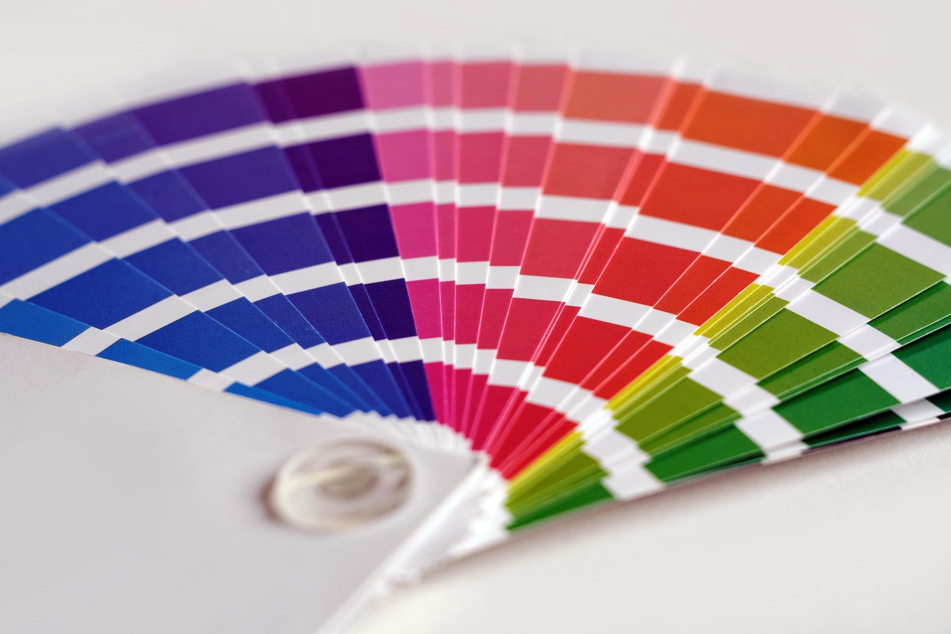 Az arculati színek kiválasztása